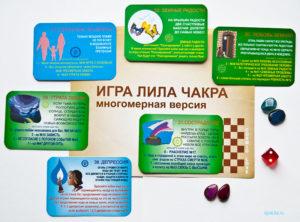Карточки по отношениям в игре Лила Чакра
